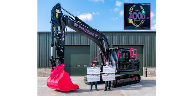 Taylor & Braithwaite's 1000th Hyundai machine sale results in £10K charity donation