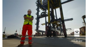 The Port of Tilbury's video reveals what it's like to be a straddle carrier driver