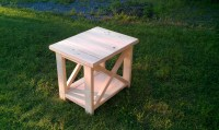 Rustic-X End Tables