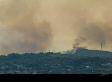 Incendie sur Montredon