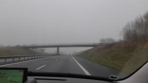Brouillard, pluie et belles lumières