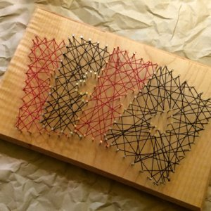 Four Aces String Art