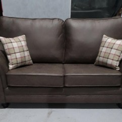 Albany Leather Sofa Burbank Charcoal Grey Waffle Suede Sectional Mi Furniture