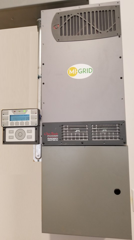 Mi-Grid 2000. a microgrid with 8kW of power output.