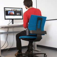 Revolving Chair For Laboratory Wooden Ladder Back With Padded Seat Gestural Interaction  Media Lab