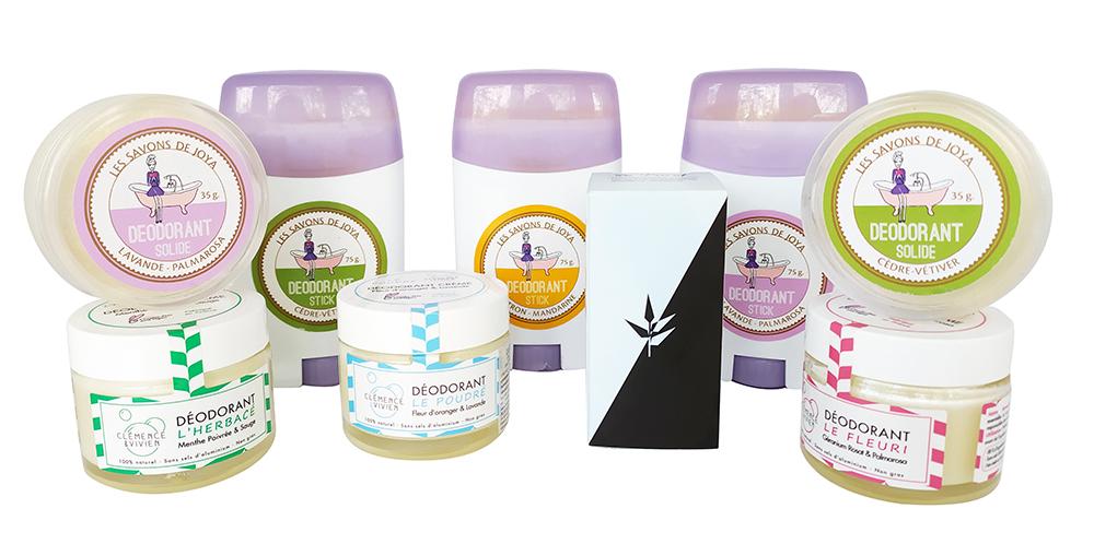 Desodorantes naturales, efectivos y súper prácticos