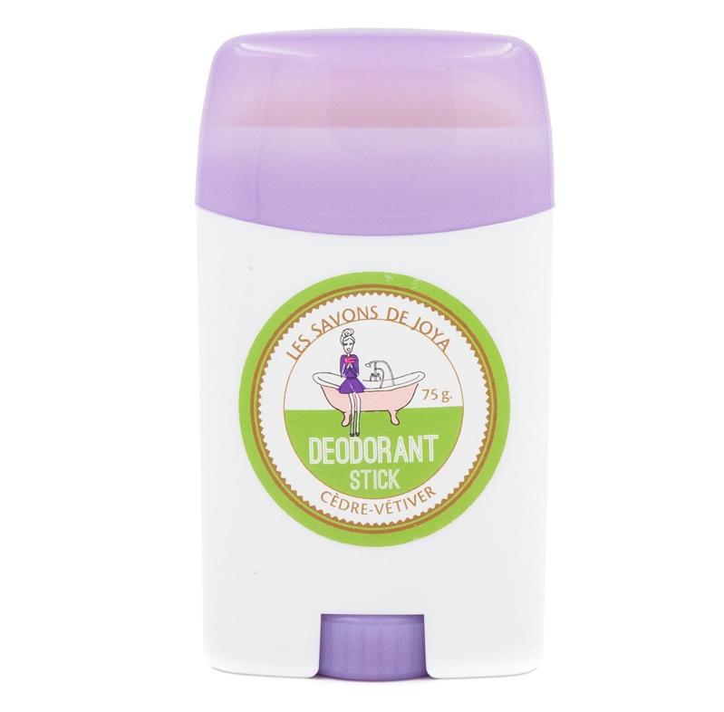 Desodorante Sólido en Barra de Cedro y Vetiver – Envase reutilizable