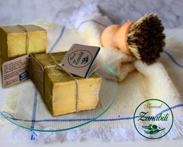 jabón de alepo para afeitar