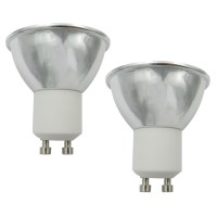 2pcs 3.5 W LED spotlampen 250 270 lm GU10 1 LED kralen COB Warm wit Koel wit 220 240 V 110 120 V ...