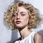 synthetic wig curly style side