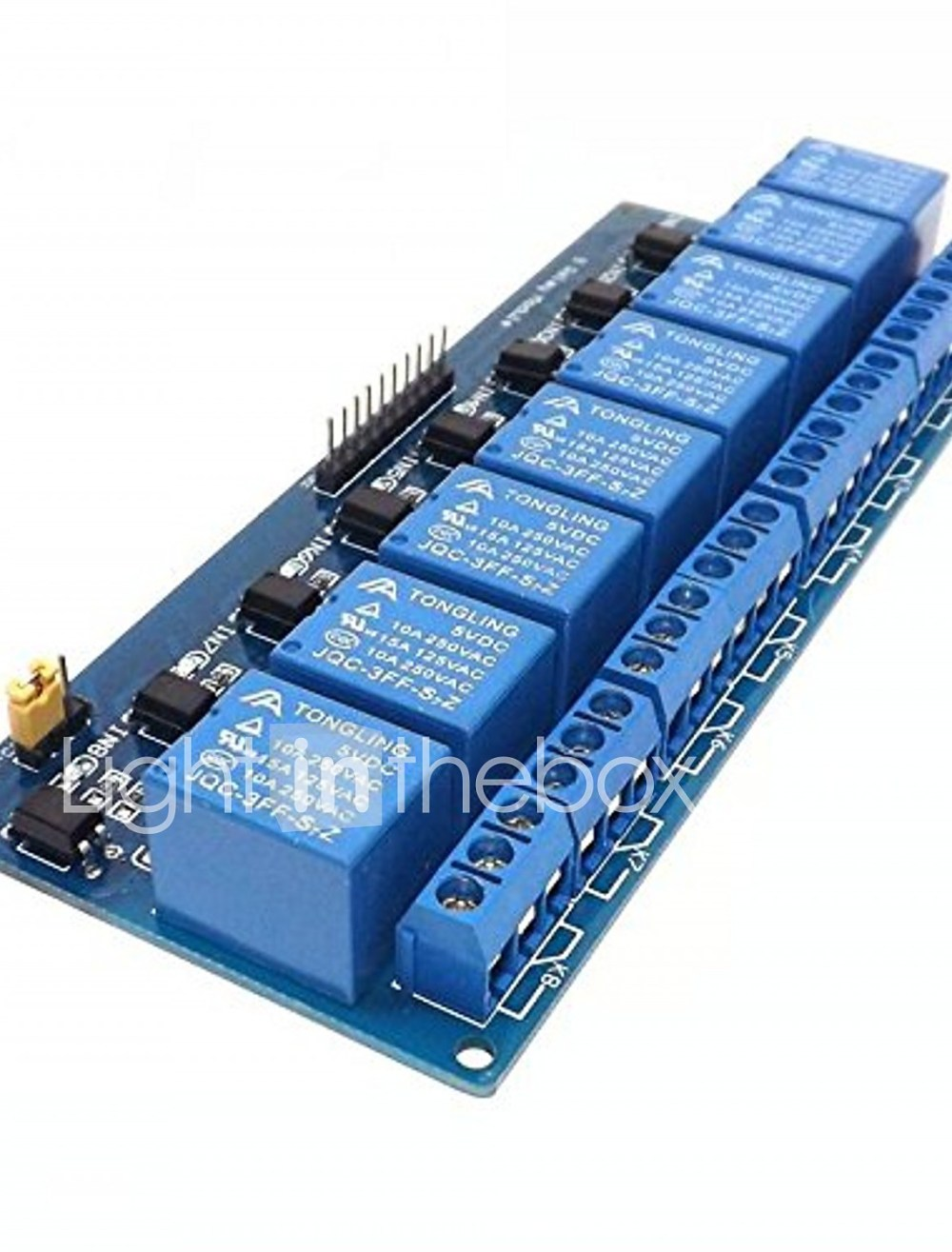 medium resolution of 8 channel 5v dc relay module expansion board for arduino raspberry pi dsp avr pic arm 07010660
