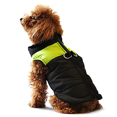 Dog Coat Vest Puffer / Down Jacket Dog Clothes Winter Warm