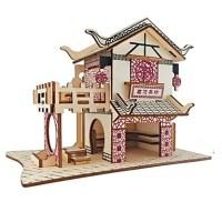 3D - Puzzle Holzpuzzle Modellbaustze Huser Mode Haus ...