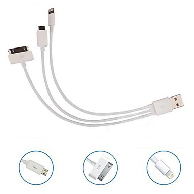 kinston 3 en 1 câble usb avec suivi pour Nokia / iphone