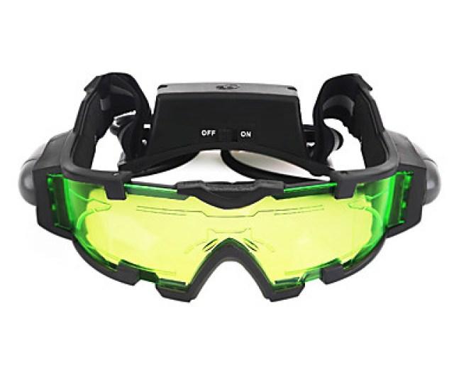 X Night Vision Goggles Night Vision Black Camping Hiking Waterproof Adjustable Fogproof