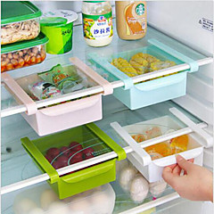cheap kitchen storage 2 person table online for 2019 diy fridge space saver organizer slide under shelf rack holder