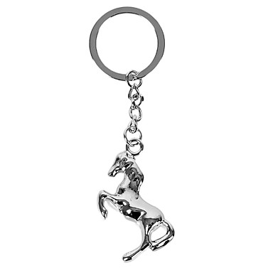 Personalized Engraved Gift Creative Horse Shaped Keychain