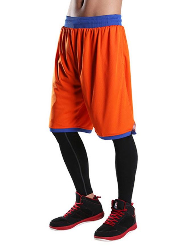 Fashionmia Sport Elastic Waist Color Block Men's Shorts