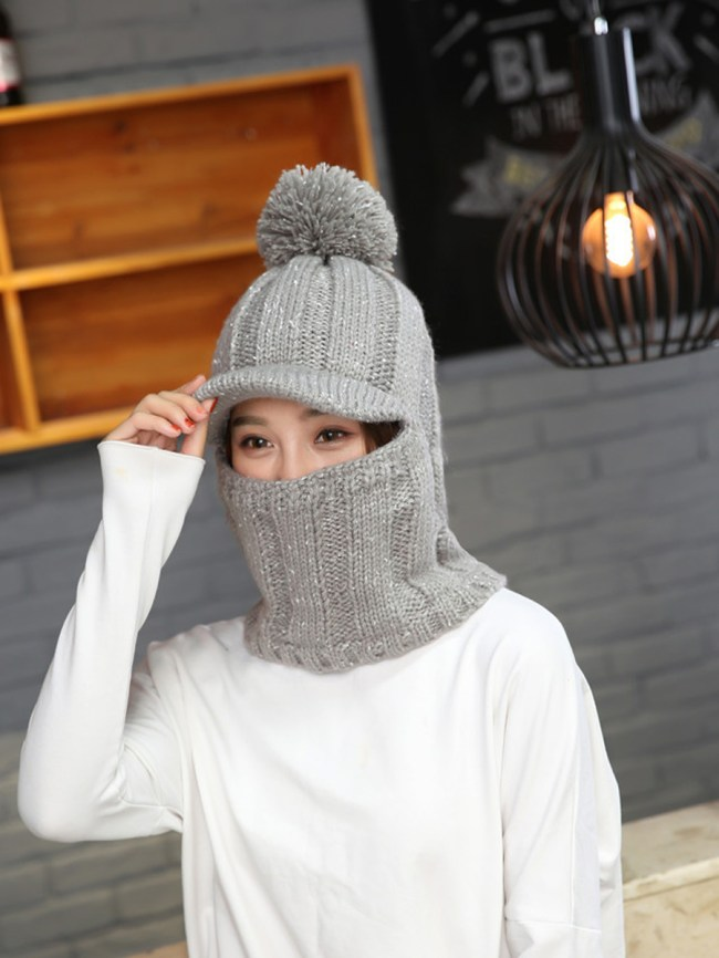 Fashionmia Lady Korea Style Fashion Warm Knitted Hats For Winter