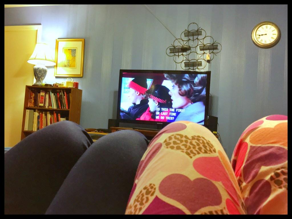 Netflix in pajamas