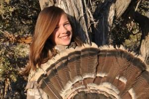 Little Gal Merriam Turkey Fan
