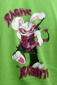 We loved this Raging Rabbit archery shirt. That is one Bad Rabbit!