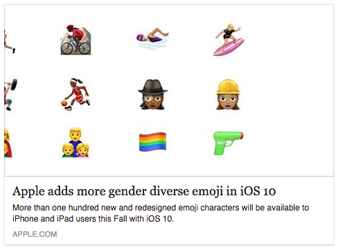 Apple-emoji-change-pistol-diversity