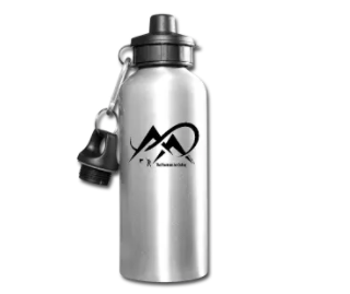 Fishing-The Mountains Are Calling-Black-Water Bottle