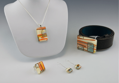miss-olivias-line-fused-glass-ring-earrings-belt-pendant-mia-anstine