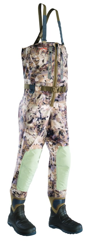 Marsh_Delta Zip Wader