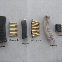 The difference between a Clip and a Magazine