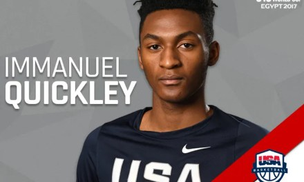 JC's Quickley will play for the U.S. in Egypt