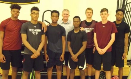 Admirals sail to AACS hoops crown