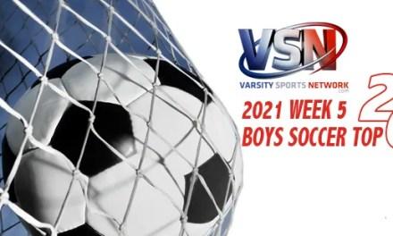 Despite first loss, Calvert Hall hangs onto No. 1 in VSN Boys Soccer Week 5 Top 20