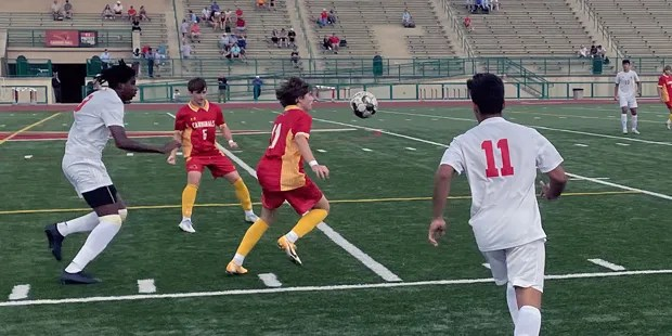 Top-ranked Calvert Hall remains undefeated with a win over No. 14 Concordia Prep