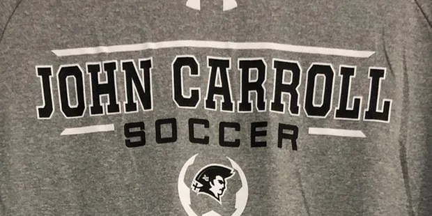 Petty's second half goal helps No. 6 John Carroll prevail at Spalding