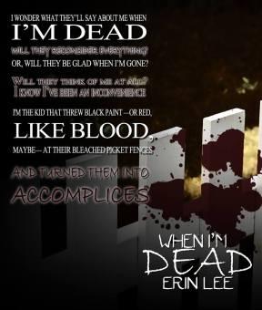 Erin Lee - When I'm Dead Teaser New3