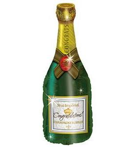 Champagne Bottle Balloon 37