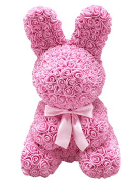 Artificial Rose Bunny