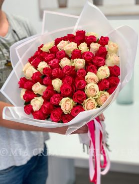 Premium Long Stem Roses Different Colors