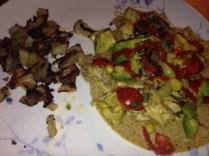 Breakfast Taco w Hot Sauce