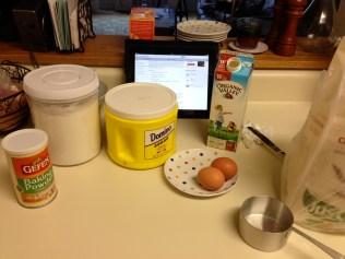 Prep ingredients and recipe!