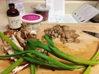 Green Onion, Burdock and Shitake