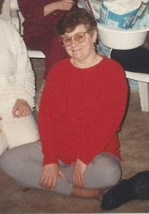 young picture of donamarie my mom in 1993