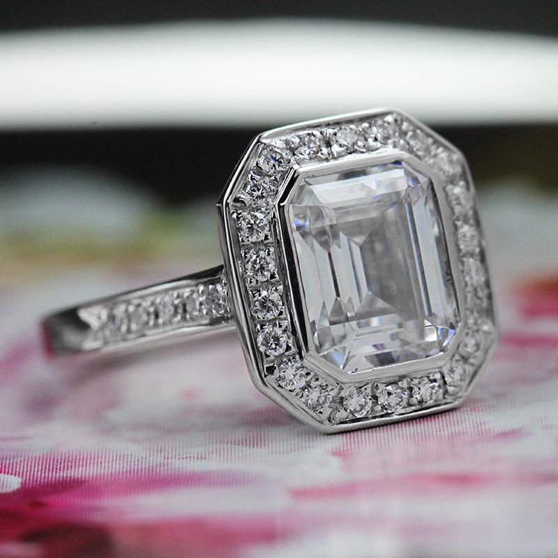 Vintage Inspired Wedding Sets Archives  Miadonna Diamond