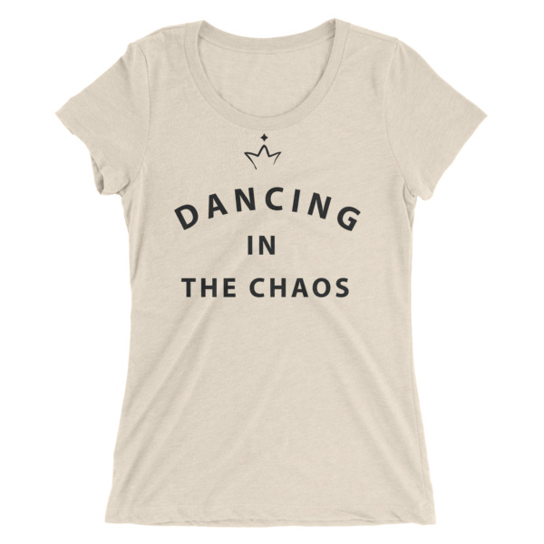 cream dancing in the chaos