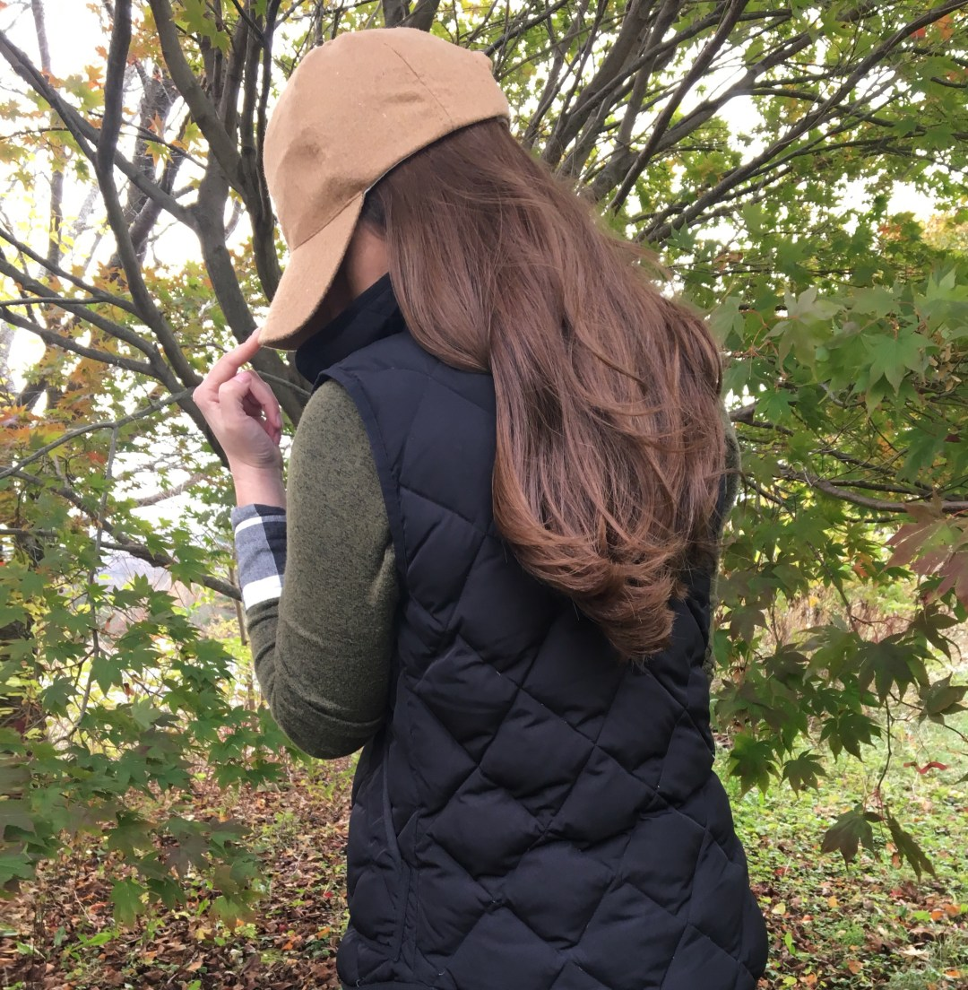 puffer vest outfit