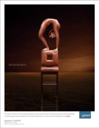 Gasser Chair Ad Bronze