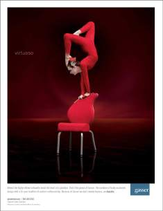 Gasser Chair Ad Red