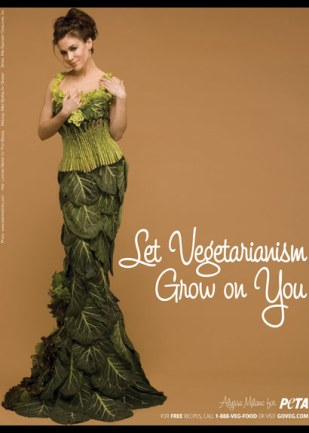 PETA Alyssa Milano Vegetable Dress